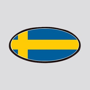 Swedish Flag Patches